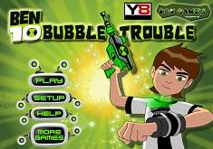 Jocuri cu Ben 10 Bubble Trouble